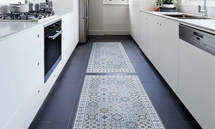 6 שטיח כניסה לבית עשוי PVC דגם רותם