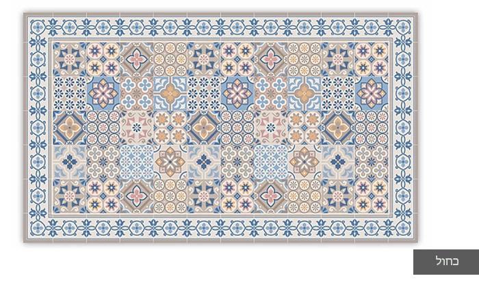 4 שטיח כניסה לבית עשוי PVC דגם רותם