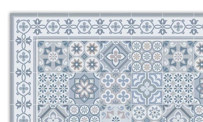 2 שטיח כניסה לבית עשוי PVC דגם רותם