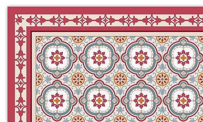 4 שטיח כניסה לבית עשוי PVC דגם איזבלה