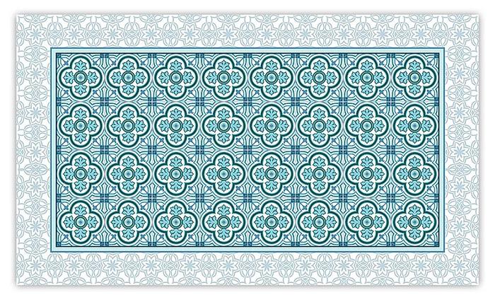 4 שטיח מעוצב לבית עשוי PVC דגם הנרי