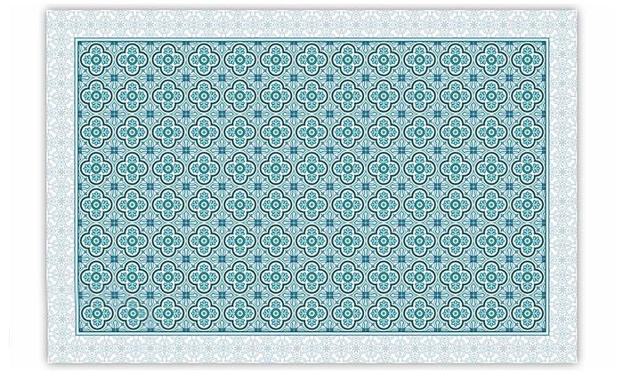 3 שטיח מעוצב לבית עשוי PVC דגם הנרי