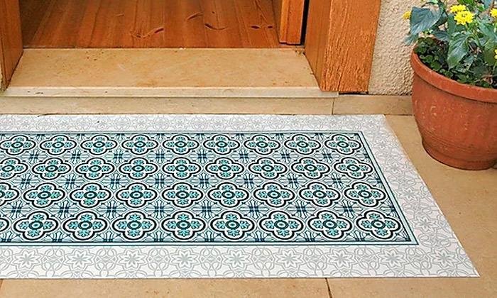 2 שטיח מעוצב לבית עשוי PVC דגם הנרי