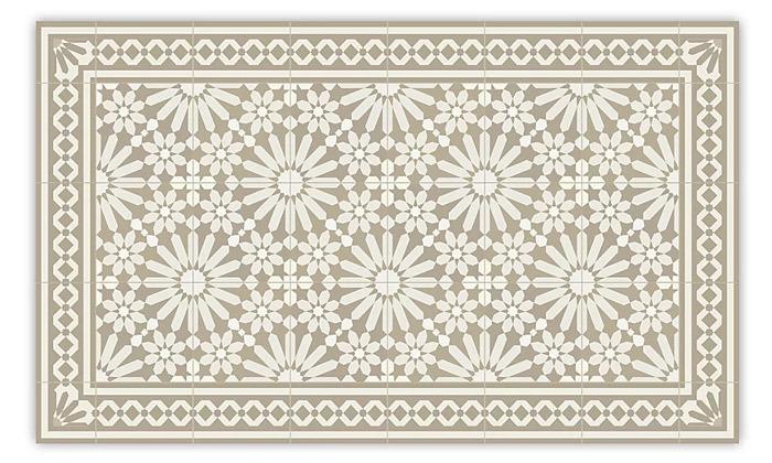 3 שטיח מעוצב לבית עשוי PVC דגם טנג'יר