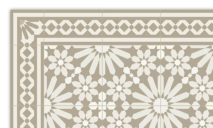 5 שטיח מעוצב לבית עשוי PVC דגם טנג'יר