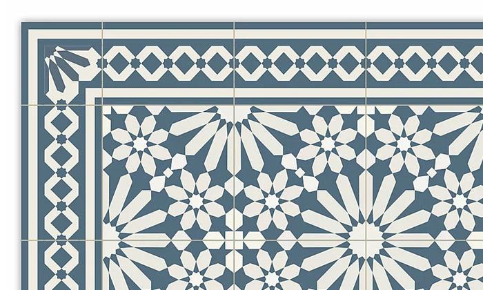 6 שטיח מעוצב לבית עשוי PVC דגם טנג'יר