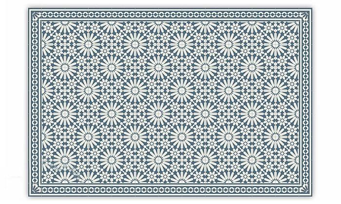 8 שטיח מעוצב לבית עשוי PVC דגם טנג'יר