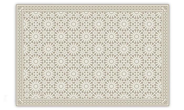 7 שטיח מעוצב לבית עשוי PVC דגם טנג'יר