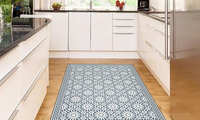 11 שטיח מעוצב לבית עשוי PVC דגם טנג'יר