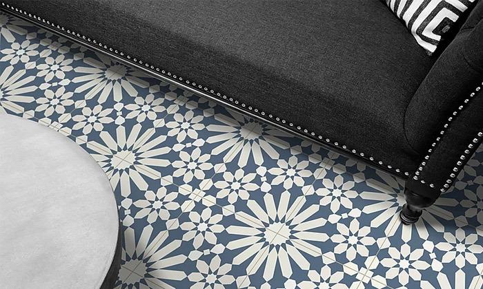 10 שטיח מעוצב לבית עשוי PVC דגם טנג'יר