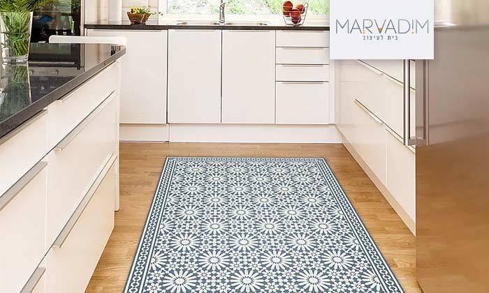 2 שטיח מעוצב לבית עשוי PVC דגם טנג'יר