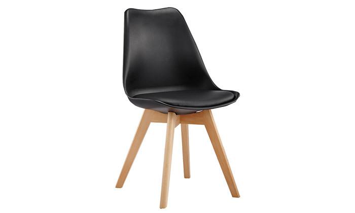 5 כיסא פינת אוכל מרופד