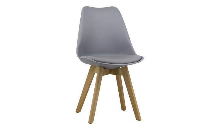 8 כיסא פינת אוכל מרופד