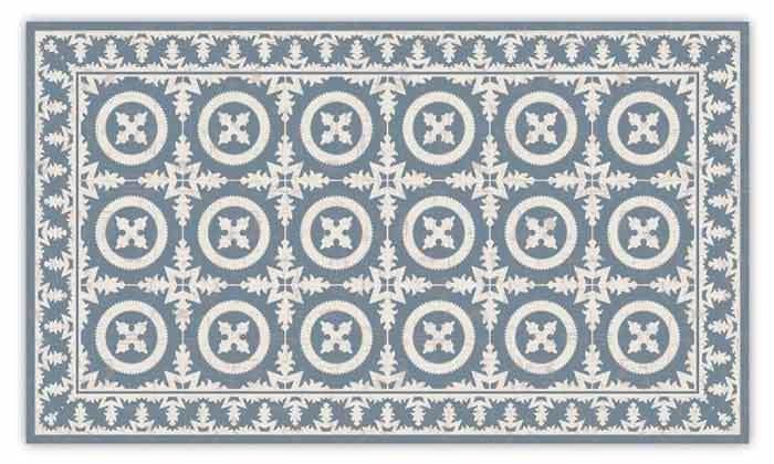 4 שטיח כניסה לבית עשוי PVC דגם ורונה