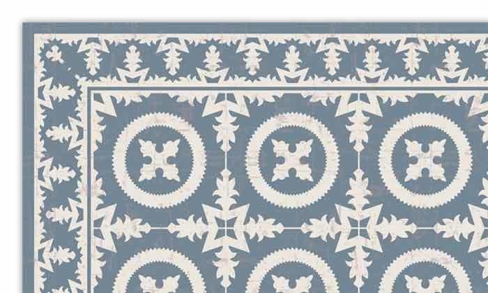 3 שטיח כניסה לבית עשוי PVC דגם ורונה