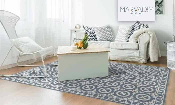2 שטיח מעוצב לבית עשוי PVC דגם ורונה