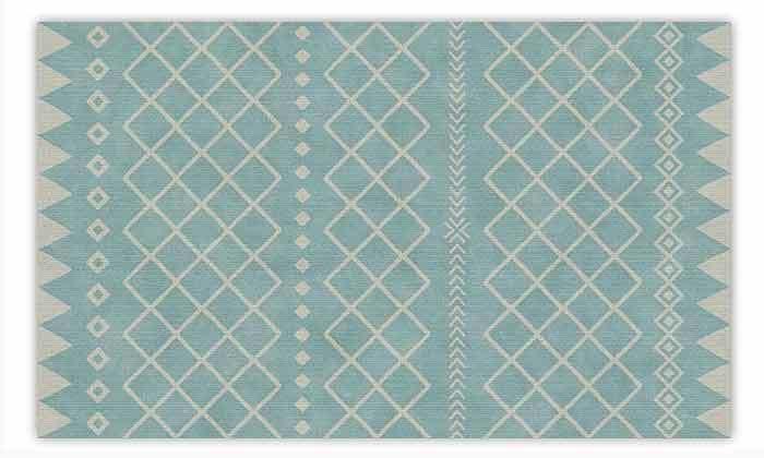 3 שטיח מעוצב לבית עשוי PVC דגם ערבה