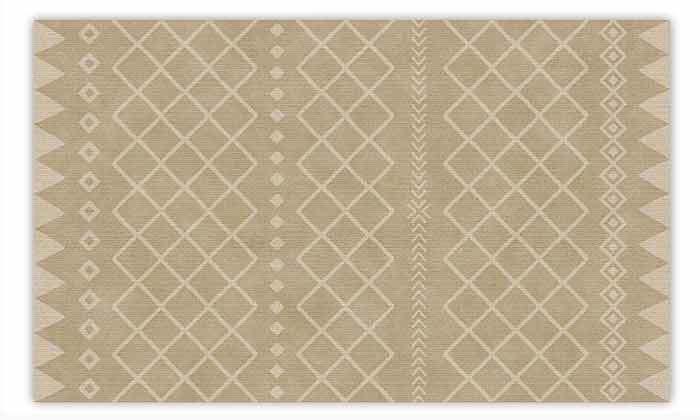 4 שטיח מעוצב לבית עשוי PVC דגם ערבה
