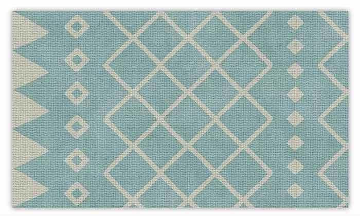 5 שטיח מעוצב לבית עשוי PVC דגם ערבה