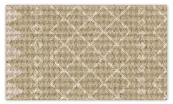 6 שטיח מעוצב לבית עשוי PVC דגם ערבה