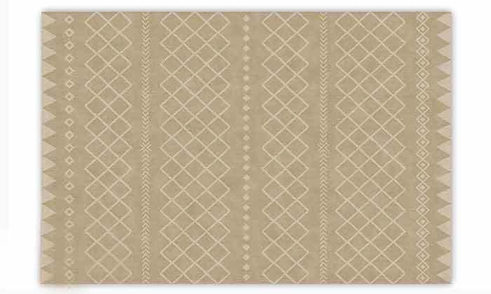 8 שטיח מעוצב לבית עשוי PVC דגם ערבה