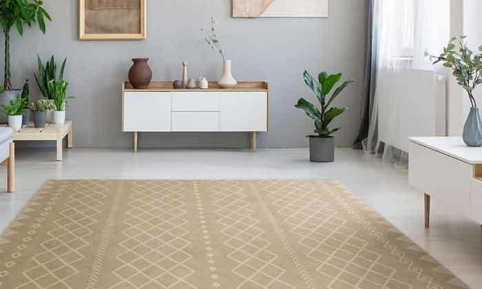 2 שטיח מעוצב לבית עשוי PVC דגם ערבה