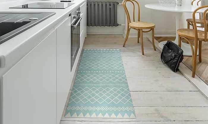 9 שטיח מעוצב לבית עשוי PVC דגם ערבה