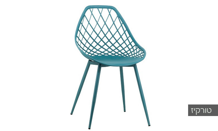 כסא אוכל דגם 7013 צבע טורקיז