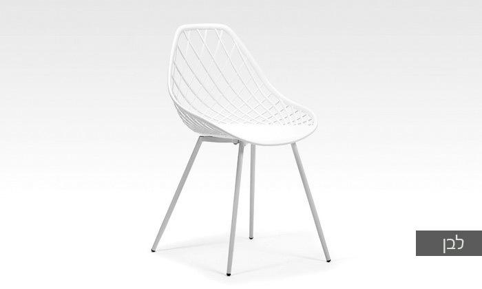 כסא אוכל דגם 7013 צבע לבן