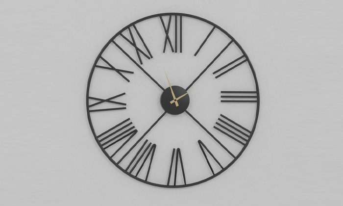 3 שעון קיר דגם רדינג