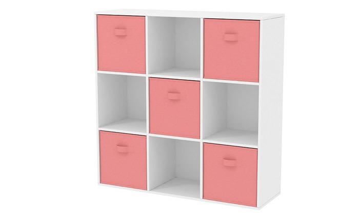 4 כוורת 9 תאים עם קופסאות אחסון