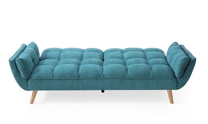 6 ספה תלת מושבית הנפתחת למיטה דגם 027