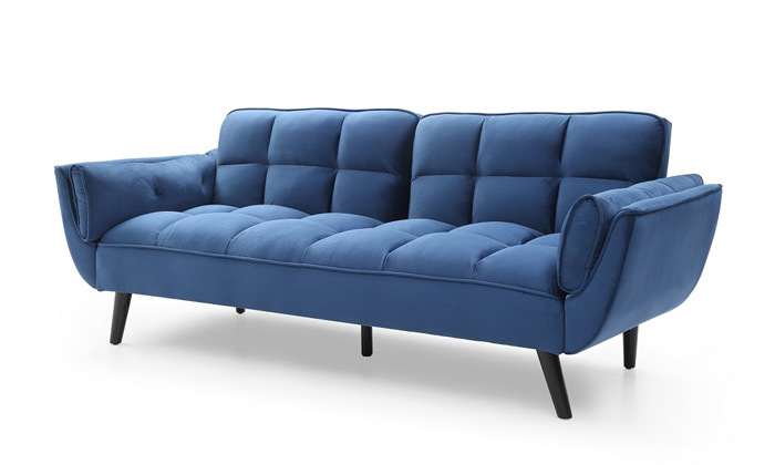 8 ספה תלת מושבית הנפתחת למיטה דגם 027