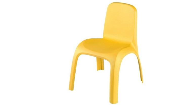 3 שולחן וזוג כיסאות לילדים דגם גילי של כתר