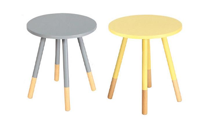 2 שולחן צד עגול Take It דגם 9214
