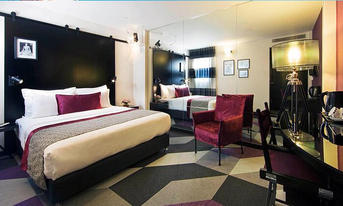 """3 חופשה במלון סינמה, דיזינגוף ת""""א - רשת מלונות אטלס"""