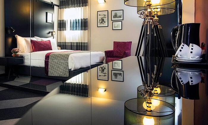 """9 חופשה במלון סינמה, דיזינגוף ת""""א - רשת מלונות אטלס"""