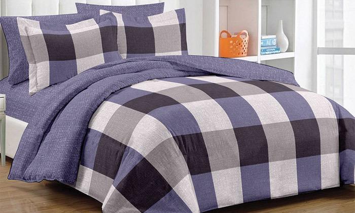 9 סט מצעים למיטת יחיד או מיטה זוגית 100% כותנה