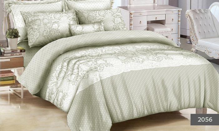 3 סט מצעים למיטת יחיד או מיטה זוגית 100% כותנה