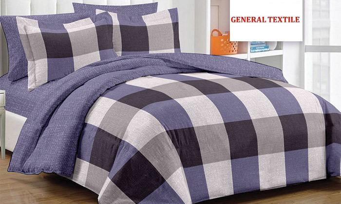 2 סט מצעים למיטת יחיד או מיטה זוגית 100% כותנה