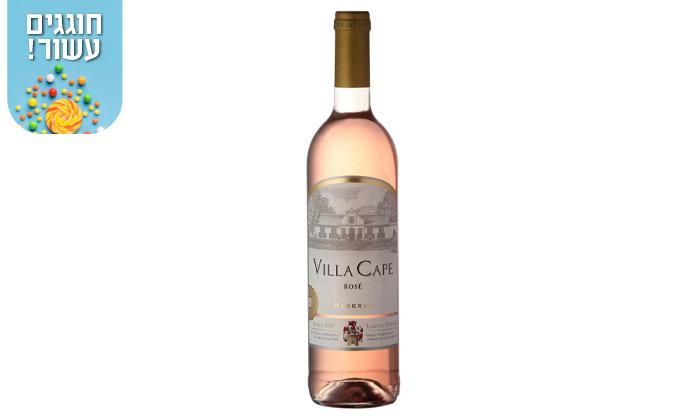 4 מארז 6 או 12 בקבוקי יין גווירצטרמינר Villa Cape במשלוח עד הבית - שר המשקאות