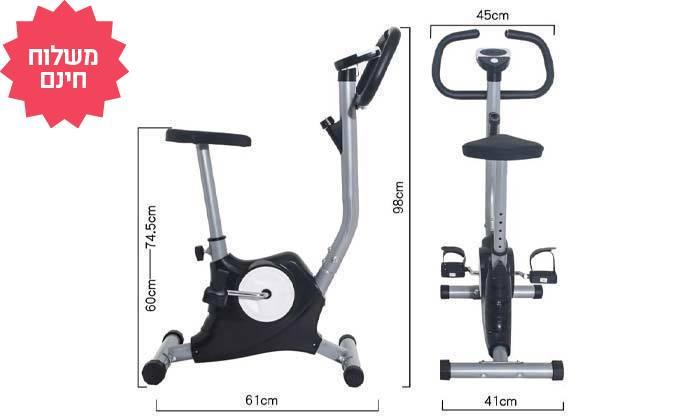 3 מכשיר אופני כושר קומפקטיים AMERICAN SPORTS, משלוח חינם