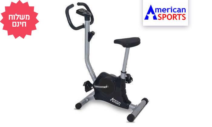 2 מכשיר אופני כושר קומפקטיים AMERICAN SPORTS, משלוח חינם