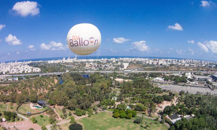 3 חווית טיסה בכדור פורח עם TLV Balloon, פארק הירקון