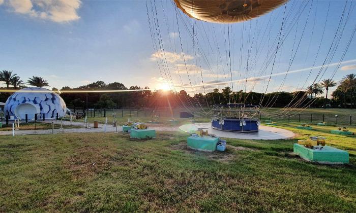 11 חווית טיסה בכדור פורח עם TLV Balloon, פארק הירקון