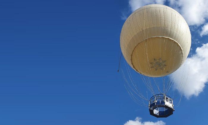 2 חווית טיסה בכדור פורח עם TLV Balloon, פארק הירקון