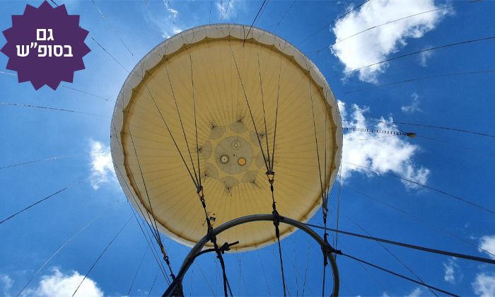 4 חוויית טיסה בכדור פורח עם TLV Balloon, פארק הירקון