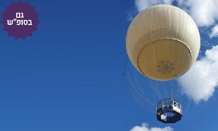 2 חוויית טיסה בכדור פורח עם TLV Balloon, פארק הירקון