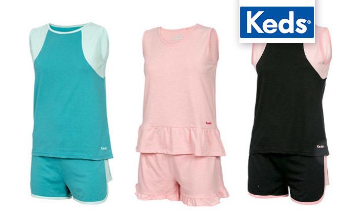 2 מארז 3 פיג'מות נשים לקיץ של KEDS
