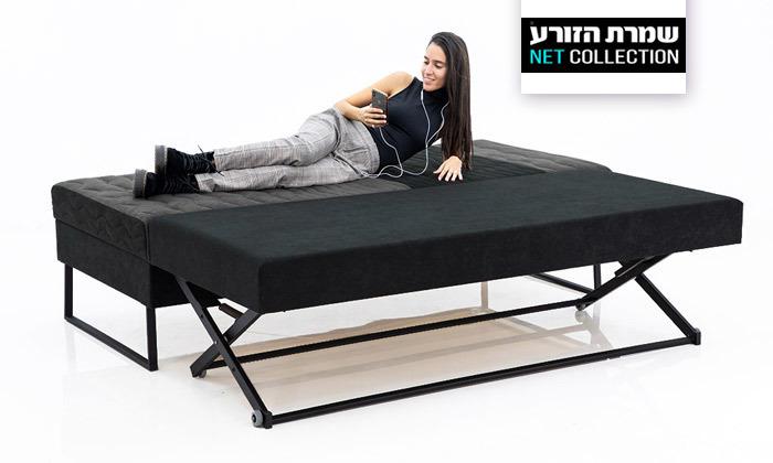 2 מיטת נוער עם ארגז מצעים ומיטת חבר של שמרת הזורע